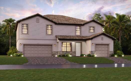 Manor Homes at Verdana Village Estero FL